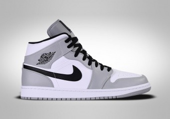 NIKE AIR JORDAN 1 RETRO MID GS SMOKE GREY