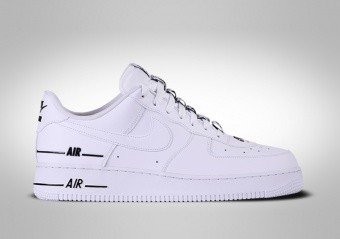 NIKE AIR FORCE 1 LOW '07 LV8 DOUBLE AIR WHITE BLACK
