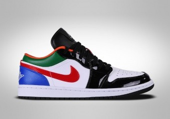 NIKE AIR JORDAN 1 RETRO LOW SE WMNS MULTICOLOR BLACK TOE