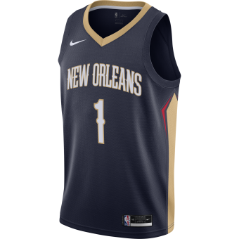 NIKE NBA NEW ORLEANS PELICANS ICON EDITION SWINGMAN JERSEY