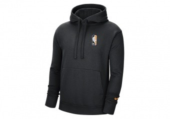 NIKE NBA TEAM 31 ESSENTIAL FLEECE PULLOVER HOODIE BLACK