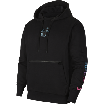 NIKE NBA MIAMI HEAT COURTSIDE CITY EDITION PULLOVER HOODIE