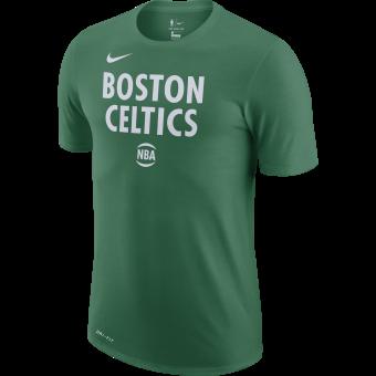 NIKE NBA BOSTON CELTICS CITY EDITION LOGO DRI-FIT TEE
