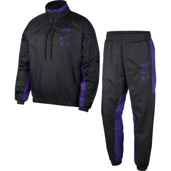 NIKE NBA LOS ANGELES LAKERS COURTSIDE TRACKSUIT