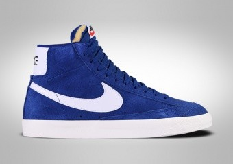 NIKE BLAZER MID '77 RETRO SUEDE DEEP ROYAL BLUE