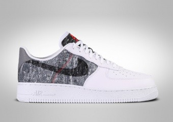 NIKE AIR FORCE 1 LOW '07 LV8 LIGHT WHITE SMOKE GREY