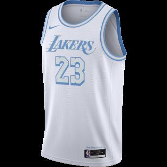 NIKE NBA LOS ANGELES LAKERS CITY EDITION SWINGMAN JERSEY