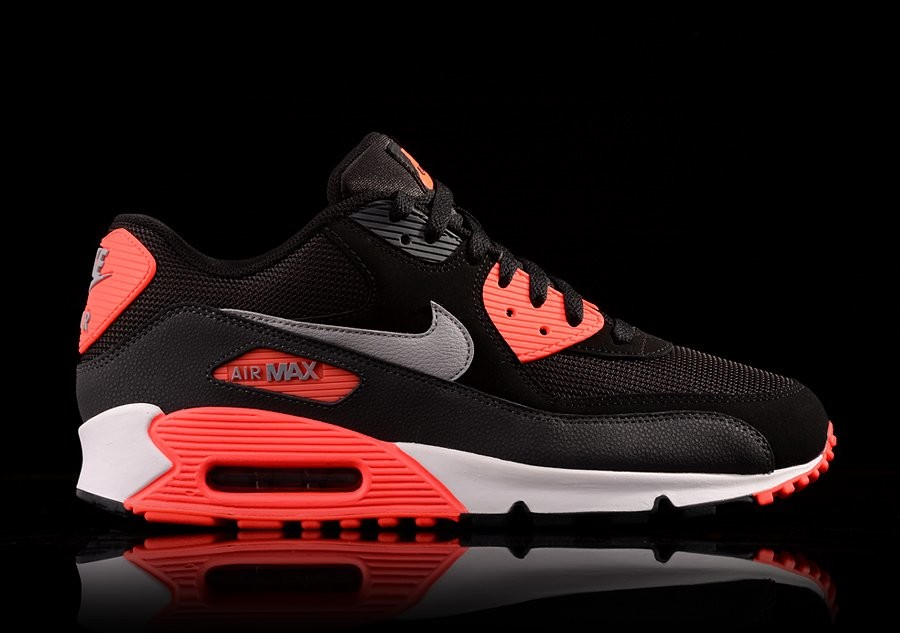 a4b25e60c7 NIKE AIR MAX 90 ESSENTIAL INFRARED BLACK price €92.50 | Basketzone.net