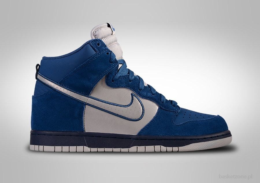 reputable site bb45c 2069e NIKE DUNK HIGH BRAVE BLUE REFLECTIVE SILVER