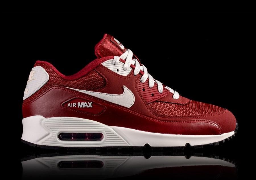 NIKE AIR MAX 90 ESSENTIAL TEAM RED