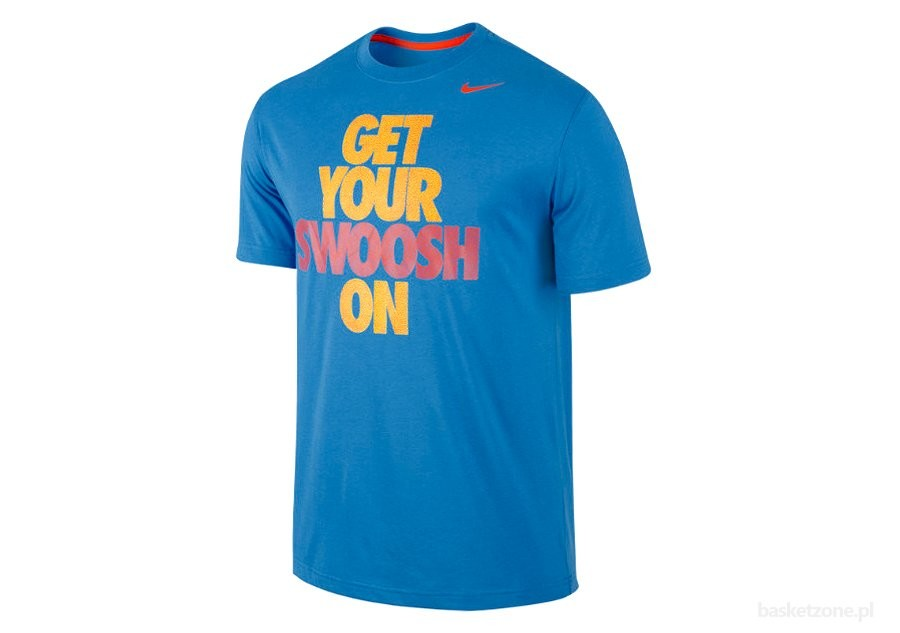 NIKE GET YOUR SWOOSH ON TEE