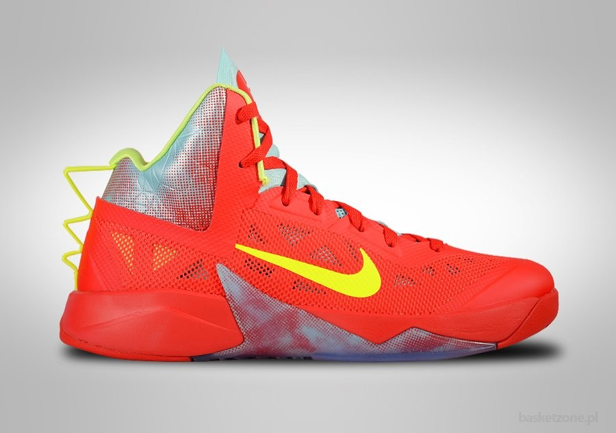 NIKE ZOOM HYPERFUSE 2013 RED VOLT ICE LIMITED