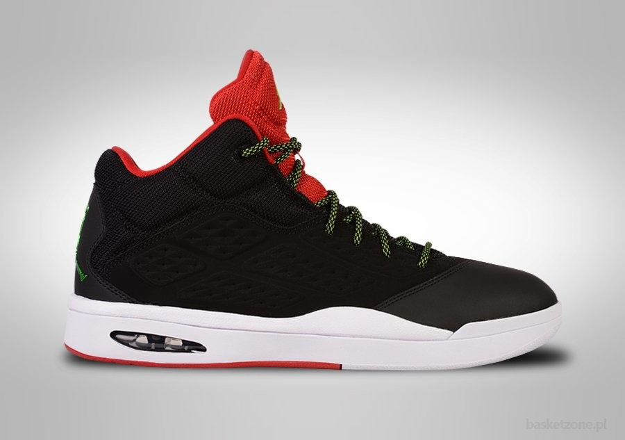 NIKE AIR JORDAN NEW SCHOOL BRED POISON GREEN