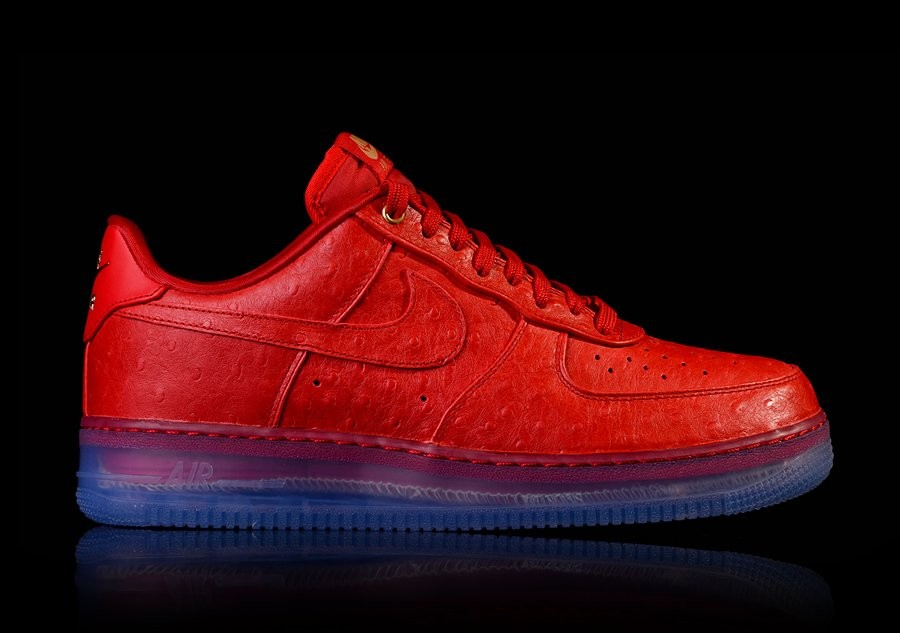NIKE AIR FORCE 1 COMFORT LUX LOW RED