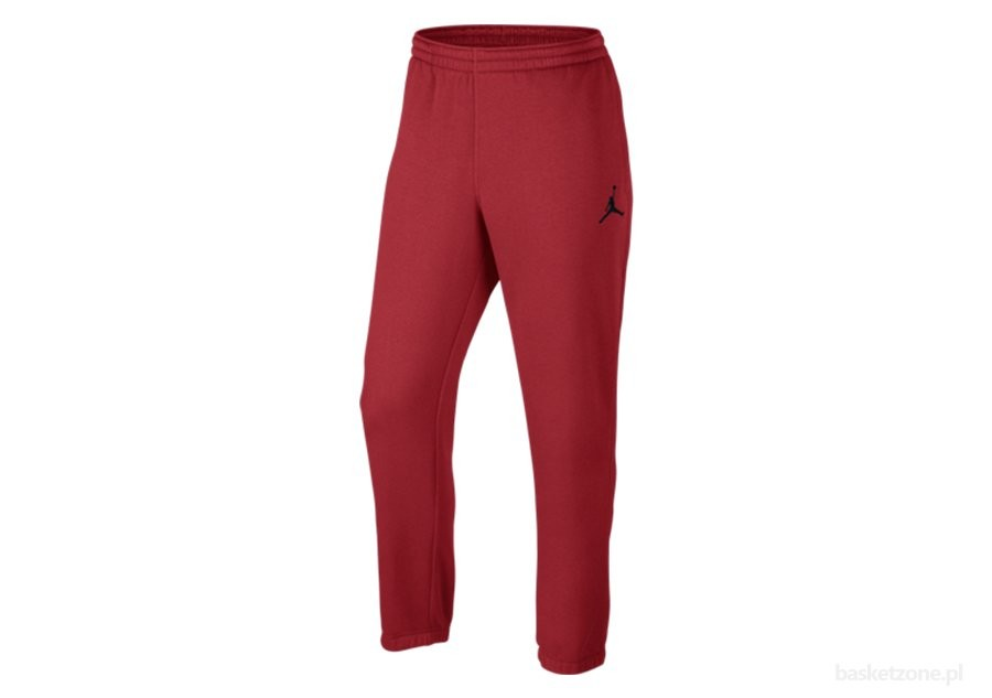 0815be4e14f0c NIKE JUMPMAN BRUSHED TAPERED GYM RED per €57