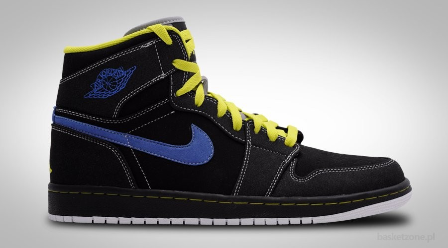 NIKE AIR JORDAN 1 / I RETRO CYBER BLACK